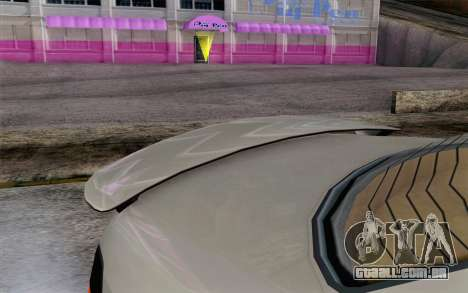 GTA 5 Ubermacht Sentinel XS IVF para GTA San Andreas vista direita