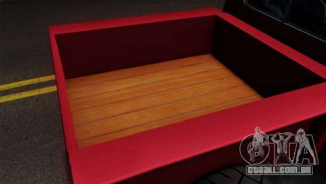 GTA 5 Bravado Rat-Truck IVF para GTA San Andreas vista traseira