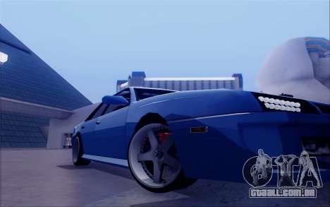 STI Sultan para GTA San Andreas vista traseira