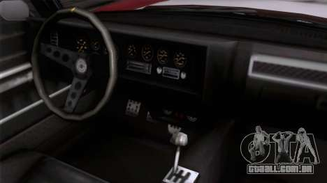 GTA 5 Invetero Coquette Classic HT para GTA San Andreas vista direita