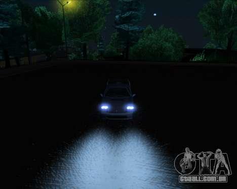 ENB Series New HD para GTA San Andreas nono tela