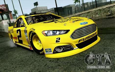 NASCAR Ford Fusion 2013 v4 para GTA San Andreas