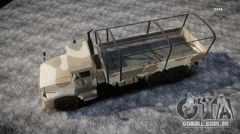 GTA 5 Barracks v2 para GTA 4 motor