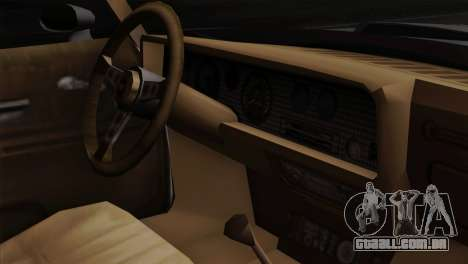 Pontiac Trans AM para GTA San Andreas vista traseira