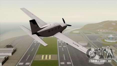 GTA 5 Velum para GTA San Andreas esquerda vista