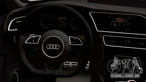 Audi RS4 Avant B8 2013 v3.0 para GTA San Andreas vista direita