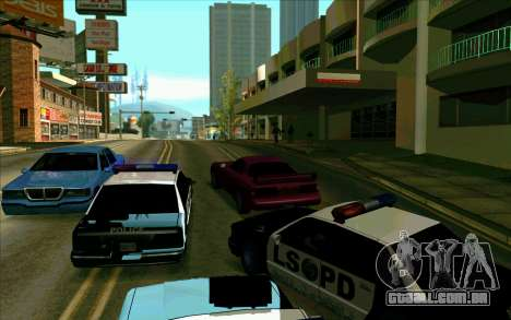 Tini ENB V2.0 Last para GTA San Andreas quinto tela