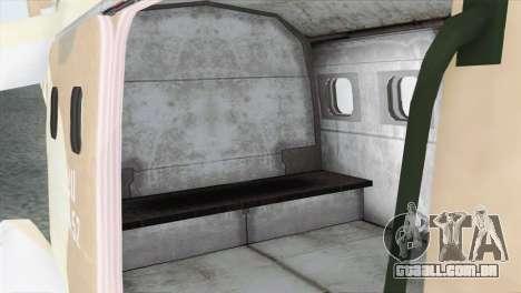 Savage GTA 5 para GTA San Andreas vista traseira