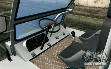 Dacia Logan MXP para GTA San Andreas vista direita