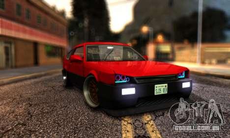 Blista Compact By VeroneProd para GTA San Andreas