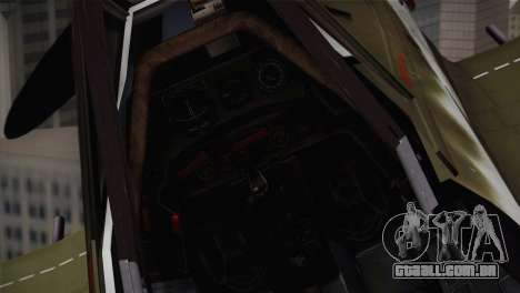 FW 190 D-11 Red 4 JV44 para GTA San Andreas vista traseira