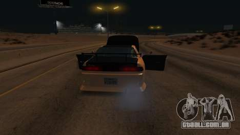 Toyota Mark II para GTA San Andreas vista inferior