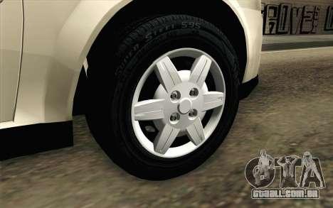 Chevrolet Classic para GTA San Andreas traseira esquerda vista