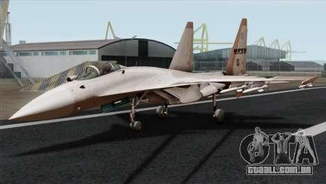 SU-37 UPEO para GTA San Andreas
