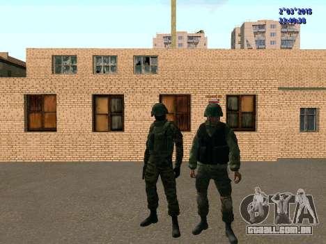 Guerreiro batalhão Leste para GTA San Andreas quinto tela