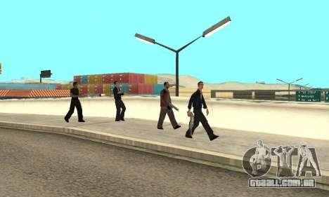 Alteração de áreas de gangues e suas armas v1.1 para GTA San Andreas sétima tela