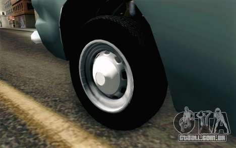 Renault Torino para GTA San Andreas traseira esquerda vista