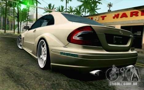 Mercedes-Benz CLK DTM 2004 para GTA San Andreas esquerda vista