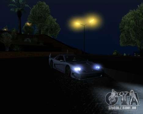 ENB Series New HD para GTA San Andreas twelth tela