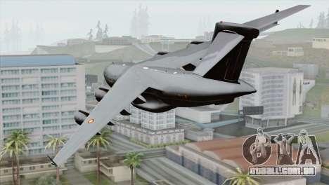 C-17A Globemaster III RAAF para GTA San Andreas esquerda vista