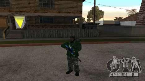 AWP DragonLore из CS:GO para GTA San Andreas segunda tela