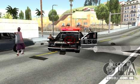 BeautifulDark ENB para GTA San Andreas segunda tela