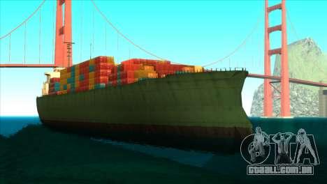 ENBSeries para PC fraco v5 para GTA San Andreas oitavo tela