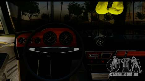 ВАЗ 2106 Baixa Clássico para GTA San Andreas vista interior