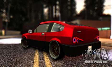 Blista Compact By VeroneProd para GTA San Andreas esquerda vista