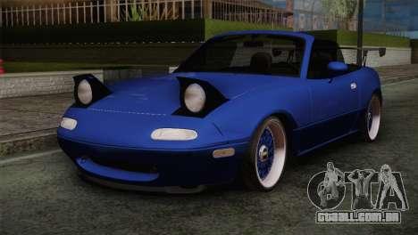 Mazda Miata Cabrio v2 para GTA San Andreas