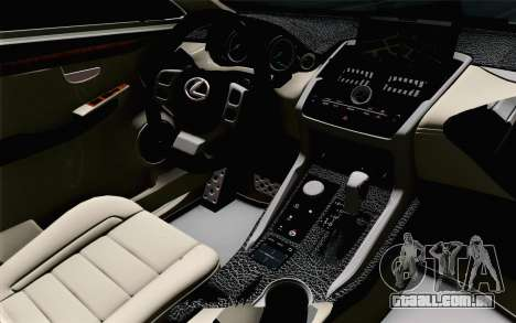 Lexus NX 200T v5 para GTA San Andreas vista direita