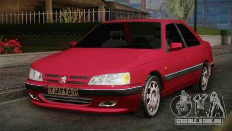 Peugeot Pars para GTA San Andreas
