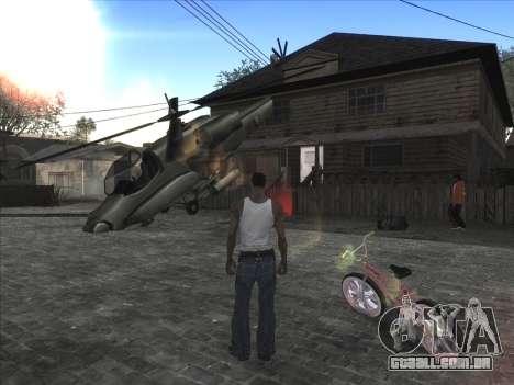 Personal car na Grove Street CJ para GTA San Andreas segunda tela