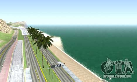 BeautifulDark ENB para GTA San Andreas oitavo tela