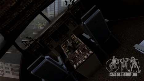 C-17A Globemaster III para GTA San Andreas vista traseira