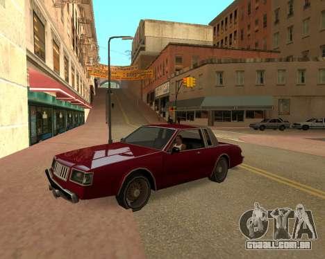 ENB for SAMP by MAKET para GTA San Andreas segunda tela