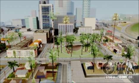 ENB para baixa de PC para GTA San Andreas segunda tela