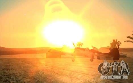 GTA 5 ENB by Dizz Nicca para GTA San Andreas segunda tela