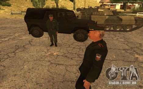 Coronel do exército russo para GTA San Andreas sexta tela