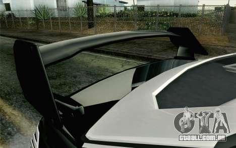 GTA 5 Karin Kuruma v2 Armored IVF para GTA San Andreas vista direita