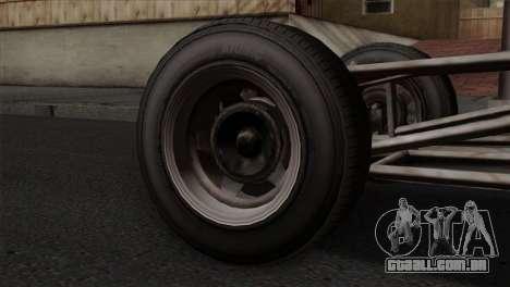 GTA 5 Dune Buggy IVF para GTA San Andreas traseira esquerda vista