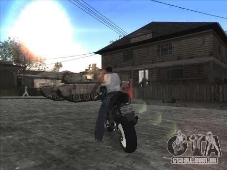 Personal car na Grove Street CJ para GTA San Andreas quinto tela