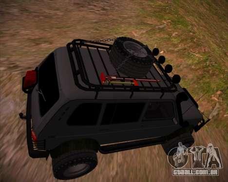 VAZ 2131 Niva 5D OffRoad para o motor de GTA San Andreas