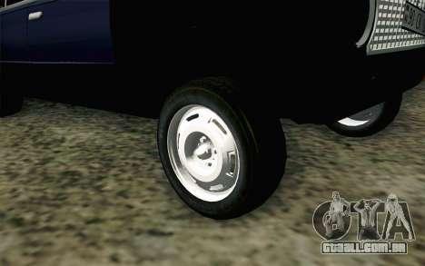 VAZ 21011 Hobo para GTA San Andreas traseira esquerda vista
