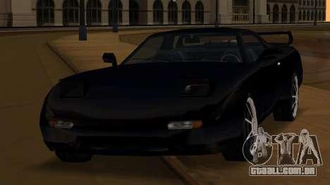 Beta ZR-350 Final para GTA San Andreas vista superior