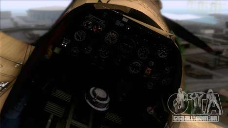 Stanislaw Skalski Supermarine Spitfire MK IXC para GTA San Andreas vista direita