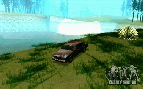 Tini ENB V2.0 Last para GTA San Andreas por diante tela