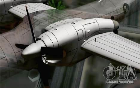 AN-32B Croatian Air Force Closed para GTA San Andreas vista direita
