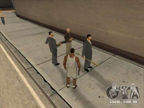 Os Russos, no distrito Comercial para GTA San Andreas décimo tela