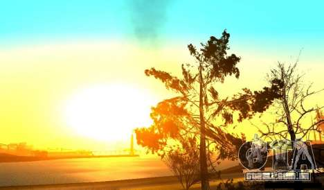 Realistic Timecyc v2.0 para GTA San Andreas segunda tela